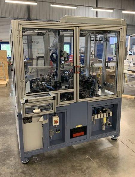 BBE exporte sa première machine en Suisse